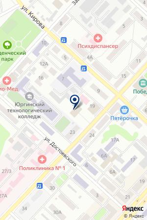 АЗС ЮКАС на карте Юрги