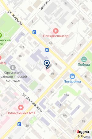 КУЗБАССКАЯ ТЕХНИЧЕСКАЯ ПРОМЫШЛЕННОСТЬ на карте Юрги