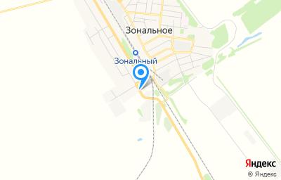 Местоположение на карте пункта техосмотра по адресу Алтайский край, с Зональное, ул Залинейная, д 94/3