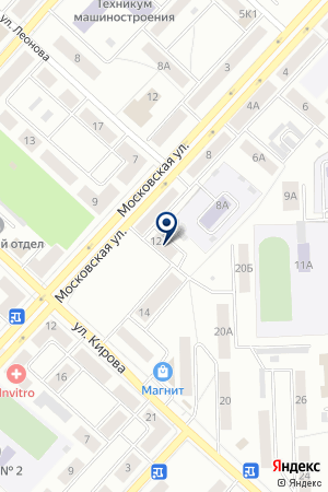 МАГАЗИН КРИСТАЛЛ на карте Юрги
