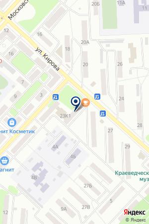 ШВЕЙНОЕ ПРОИЗВОДСТВО ФАНТОМ на карте Юрги