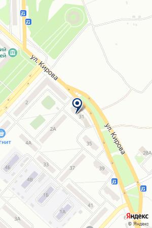 АВТОСТОЯНКА МАТВЕЕВ А.А. на карте Юрги