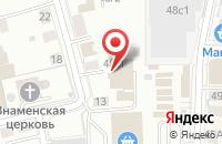 Схема проезда до компании Реклама в Томске