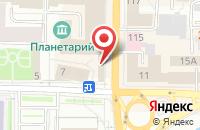 Схема проезда до компании Юаквин в Иваново