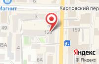 Схема проезда до компании Планета здоровья в Альметьевске