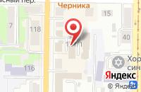 Схема проезда до компании Дагас в Томске