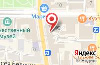 Схема проезда до компании Климат в Гурьевске