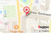 Схема проезда до компании ЮНИСТРИМ в Подольске