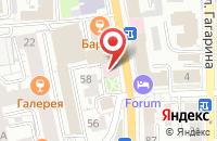 Схема проезда до компании Сбербанк в Крестово-Городище