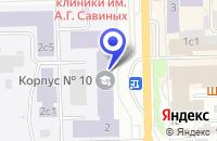 Схема проезда до компании ПЛАНАР-Т в Томске