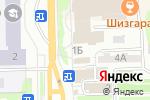 Схема проезда до компании ЭНDОРФИН в Томске