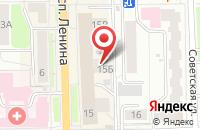 Схема проезда до компании ID football в Александрово