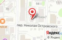 Схема проезда до компании 7я в Томске