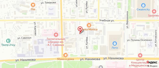 Карта расположения пункта доставки Халва в городе Томск