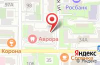 Схема проезда до компании Томский центр экспертиз в Томске