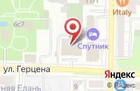 Схема проезда до компании Издательская Группа «Ва-Банк» в Томске