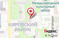 Схема проезда до компании Торговый Дом Омега в Томске