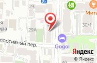 Схема проезда до компании Статус в Томске