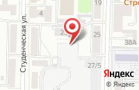 Схема проезда до компании Импринт в Томске