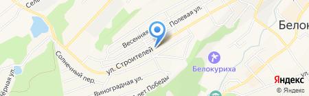 Премьер на карте Белокурихи