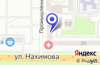 Схема проезда до компании КЛИНИКА НЕЖНОСТЬ в Томске