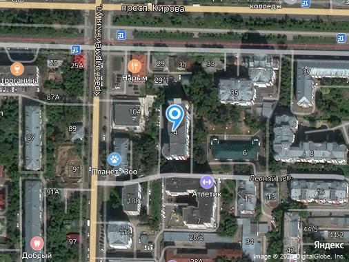 Продажа 4-комнатной квартиры, 125 м², Томск, Лесной переулок, 4