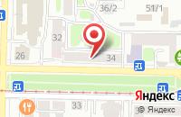 Схема проезда до компании ТомСувенир в Томске