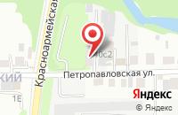 Схема проезда до компании Сибэкопроект в Томске