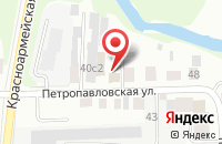 Схема проезда до компании Стройинформ в Томске