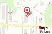 Схема проезда до компании Моцарт в Томске