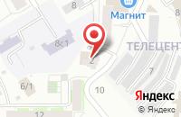 Схема проезда до компании Маркет Радио в Томске
