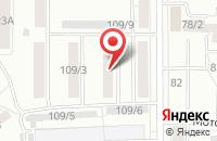 Схема проезда до компании Альянс Томск в Томске