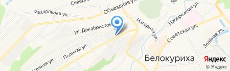 Алтайэнерго на карте Белокурихи