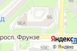 Схема проезда до компании KimLight в Томске