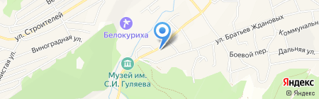 ZooМиРыбалки на карте Белокурихи