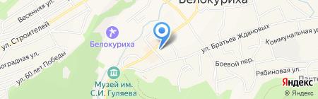 Банкомат Сбербанк России на карте Белокурихи