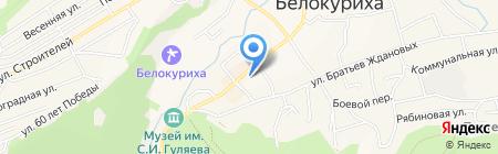 Ахтамар на карте Белокурихи