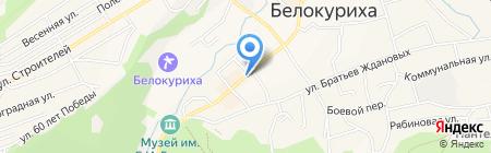 Роспечать Бийск на карте Белокурихи