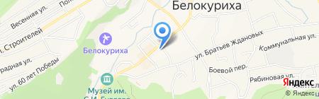 Салют на карте Белокурихи