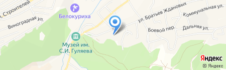 Здравствуй на карте Белокурихи