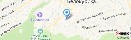 Отделение вневедомственной охраны по г. Белокурихе на карте Белокурихи