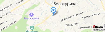 Комитет по связям с общественностью и СМИ на карте Белокурихи
