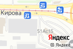 Схема проезда до компании Микран в Томске