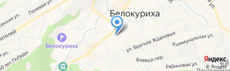 Феникс на карте Белокурихи