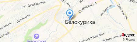 Компаньон на карте Белокурихи
