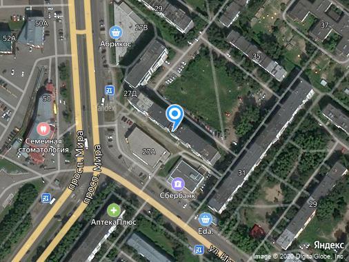 Продаю нежилое здание, 6 м², Томск, проспект Мира, 27