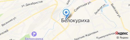 Линия жизни на карте Белокурихи