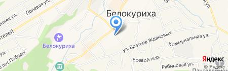 Земельные участки и недвижимость на карте Белокурихи