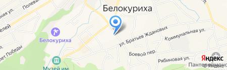 Хелми на карте Белокурихи