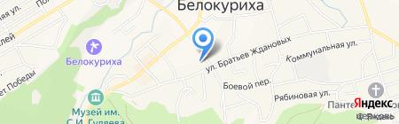 Комитет по образованию Администрации г. Белокурихи на карте Белокурихи